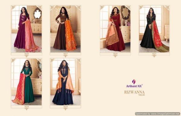 Arihant Riawana 3 designer heavy kurti (3)-13022019120258