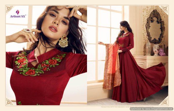 Arihant Riawana 3 designer heavy kurti (4)-13022019120258