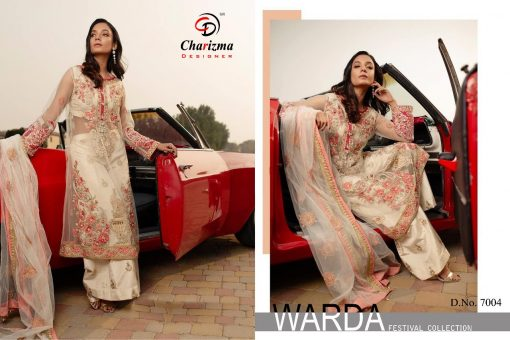 Charizma Warda Festival Collection designer salwar suits in georgette fabric with heavy dupatta fully designer collection 2