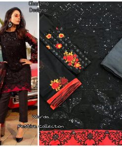 Charizma Warda Festival Collection designer salwar suits in georgette fabric with heavy dupatta fully designer collection 21