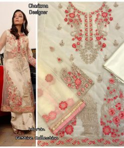 Charizma Warda Festival Collection designer salwar suits in georgette fabric with heavy dupatta fully designer collection 22