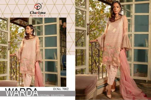 Charizma Warda Festival Collection designer salwar suits in georgette fabric with heavy dupatta fully designer collection 11