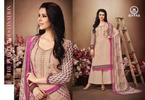 hansa present hidaya vol 11 pure cotton embroidery salwar kameez wholesale 4