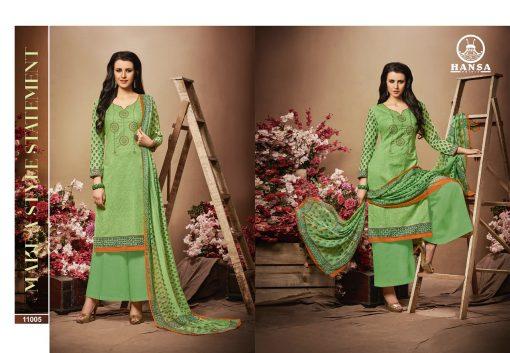 hansa present hidaya vol 11 pure cotton embroidery salwar kameez wholesale 5