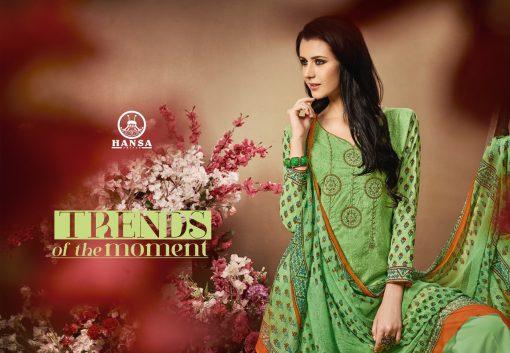 hansa present hidaya vol 11 pure cotton embroidery salwar kameez wholesale 6
