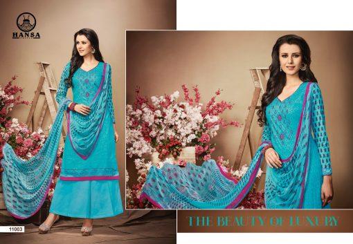 hansa present hidaya vol 11 pure cotton embroidery salwar kameez wholesale 7