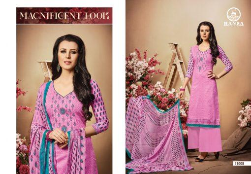 hansa present hidaya vol 11 pure cotton embroidery salwar kameez wholesale 9