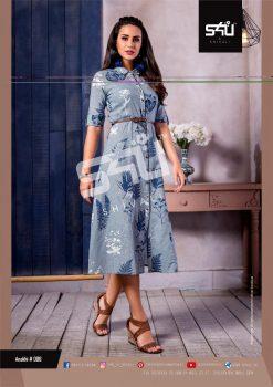 s4u anokhi designer heavy western cut kurti collection 16