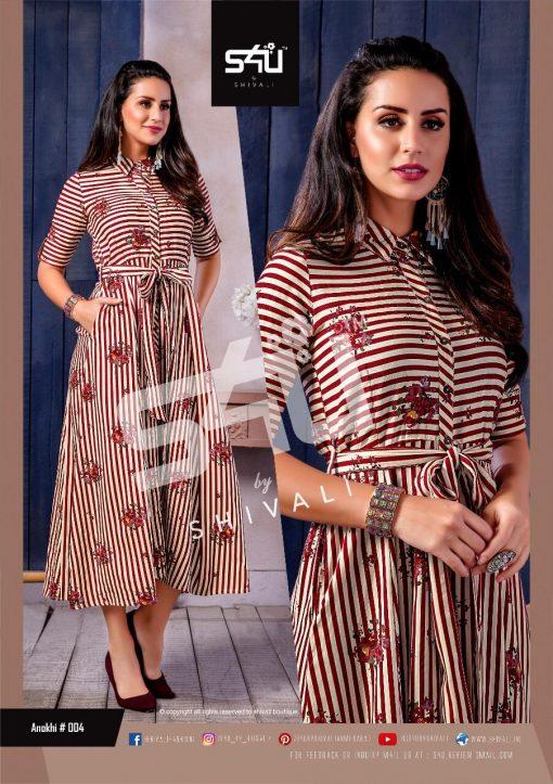 s4u anokhi designer heavy western cut kurti collection 10