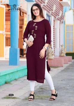 MITTOO PALAK VOL 17 KURTI WHOLESALER 13