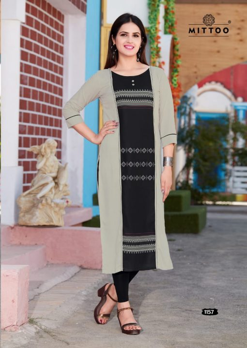 MITTOO PALAK VOL 17 KURTI WHOLESALER 4