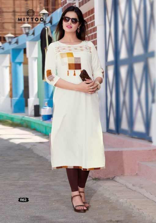 MITTOO PALAK VOL 17 KURTI WHOLESALER 7