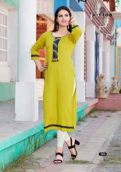 MITTOO PALAK VOL 17 KURTI WHOLESALER 19