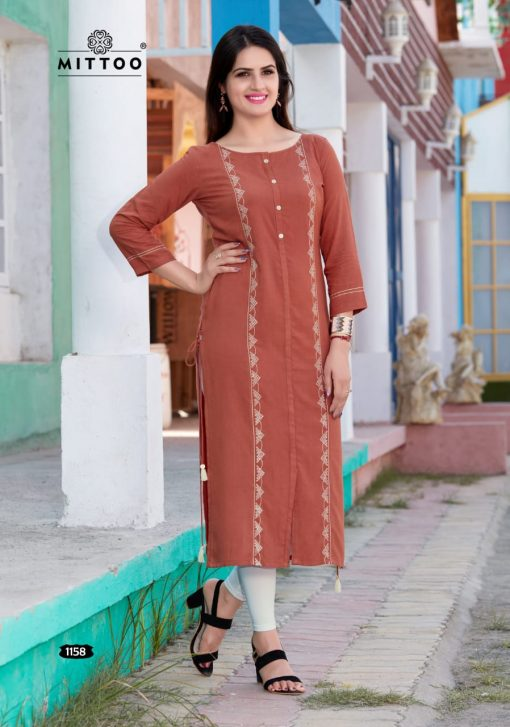 MITTOO PALAK VOL 17 KURTI WHOLESALER 10