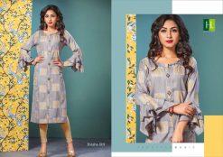 h dot present kvisha rayon long trendy kurti online shopping 13