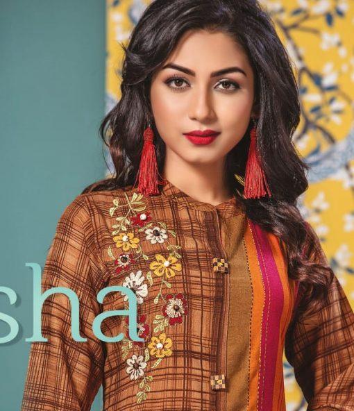 h dot present kvisha rayon long trendy kurti online shopping 1