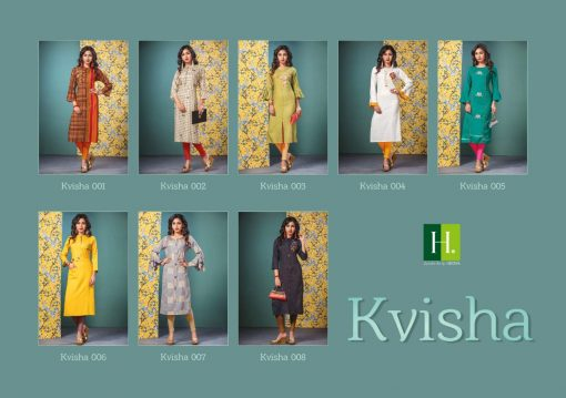 h dot present kvisha rayon long trendy kurti online shopping 11