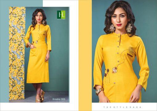 h dot present kvisha rayon long trendy kurti online shopping 12