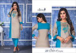 hirwa present ayesha fancy rayon long kurti wholesale price 13
