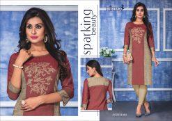 hirwa present ayesha fancy rayon long kurti wholesale price 15