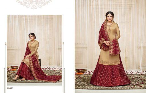 meera zisa vol 59 lehenga style designer dresses wholesale supplier in surat 2