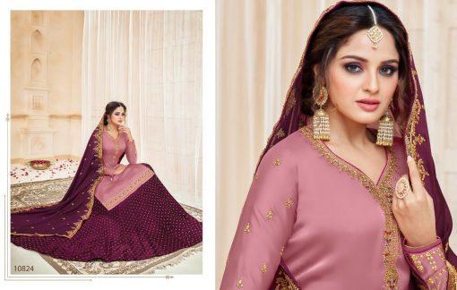 meera zisa vol 59 lehenga style designer dresses wholesale supplier in surat 3