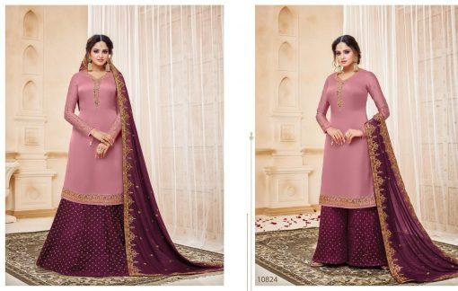meera zisa vol 59 lehenga style designer dresses wholesale supplier in surat 6