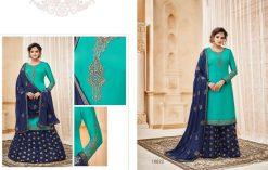 meera zisa vol 59 lehenga style designer dresses wholesale supplier in surat 19