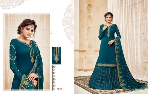 meera zisa vol 59 lehenga style designer dresses wholesale supplier in surat 11