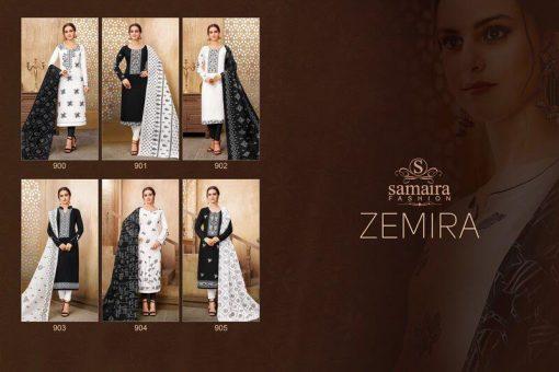 Samaira Zemira Dress material wholesale price at wholesale 3