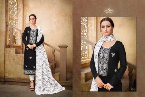 Samaira Zemira Dress material wholesale price at wholesale 4