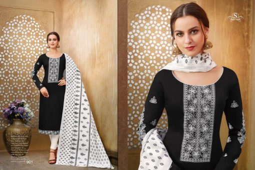 Samaira Zemira Dress material wholesale price at wholesale 5