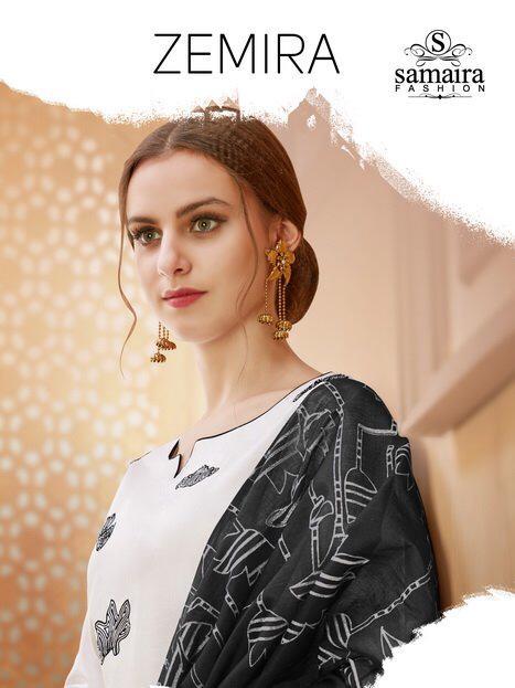 Samaira Zemira Dress material wholesale price at wholesale 1