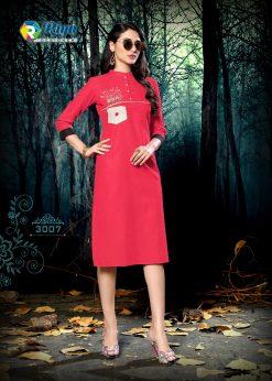 riya designer culture vol 3 casual wear fancy kurti online 16