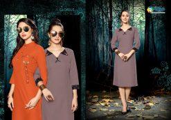 riya designer culture vol 3 casual wear fancy kurti online 17