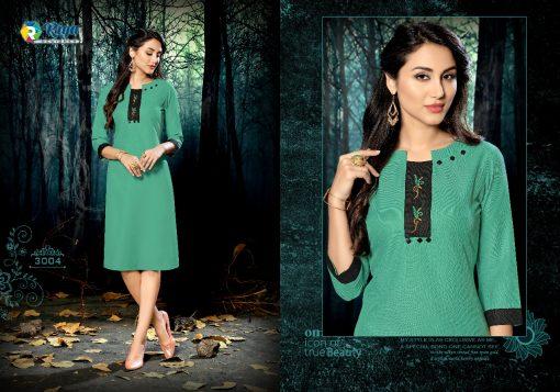 riya designer culture vol 3 casual wear fancy kurti online 9