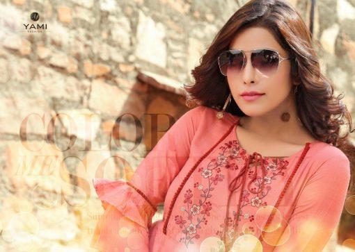 yami fashion topsy vol 6 rayon stylish short tops wholesale rate 9