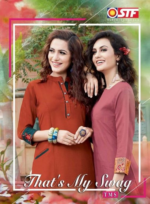 STF launch thats my swag rayon kurti with plazzo online shopping 1