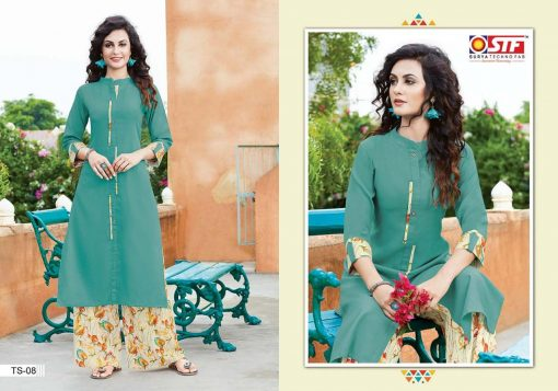 STF launch thats my swag rayon kurti with plazzo online shopping 3
