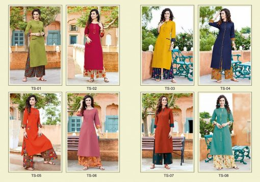 STF launch thats my swag rayon kurti with plazzo online shopping 4