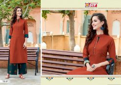 STF launch thats my swag rayon kurti with plazzo online shopping 16