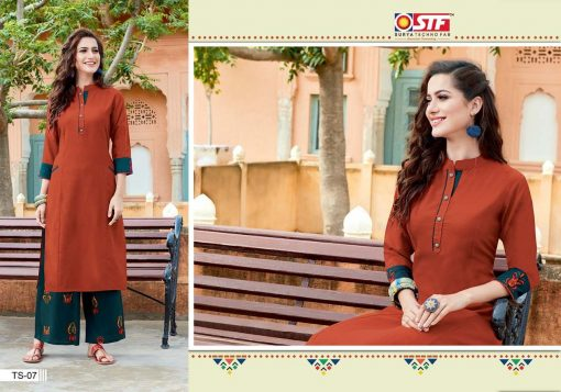 STF launch thats my swag rayon kurti with plazzo online shopping 5