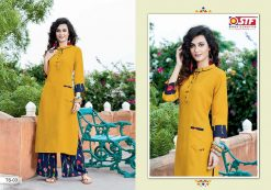 STF launch thats my swag rayon kurti with plazzo online shopping 18