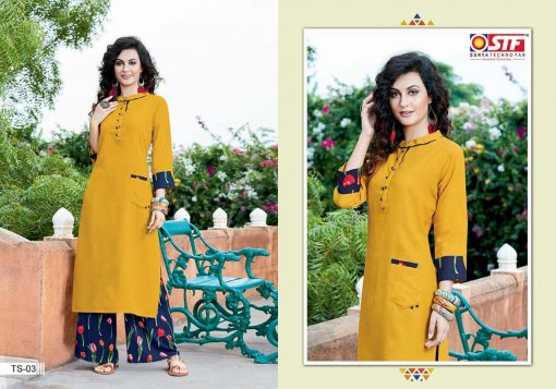 STF launch thats my swag rayon kurti with plazzo online shopping 7