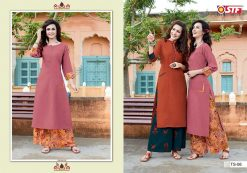 STF launch thats my swag rayon kurti with plazzo online shopping 19