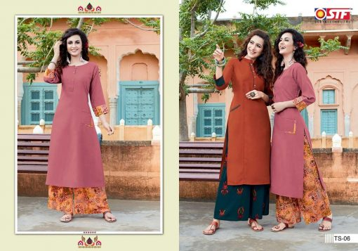 STF launch thats my swag rayon kurti with plazzo online shopping 8