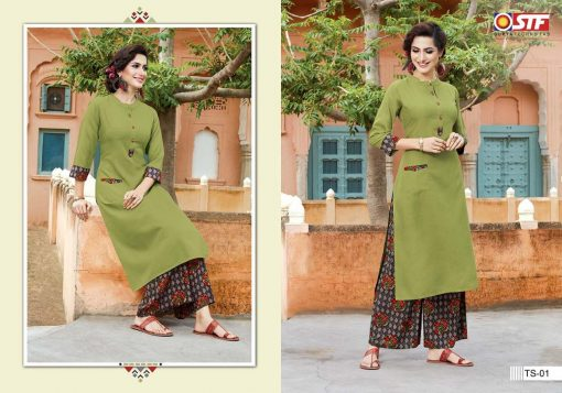 STF launch thats my swag rayon kurti with plazzo online shopping 9