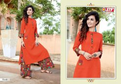 STF launch thats my swag rayon kurti with plazzo online shopping 21