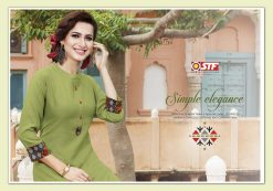 STF launch thats my swag rayon kurti with plazzo online shopping 22