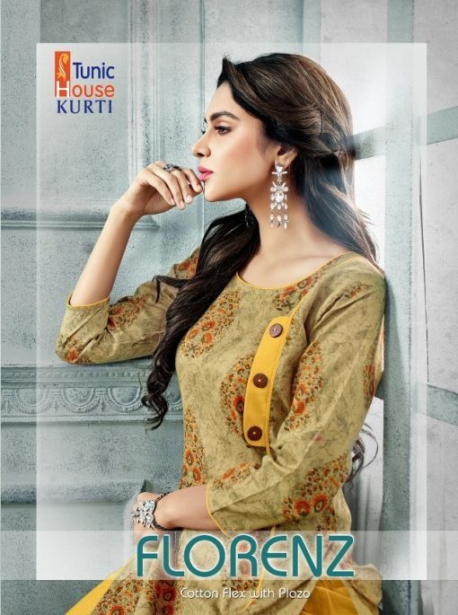 Tunic House Florenz Kurtis And Palazzo Wholesale online 1